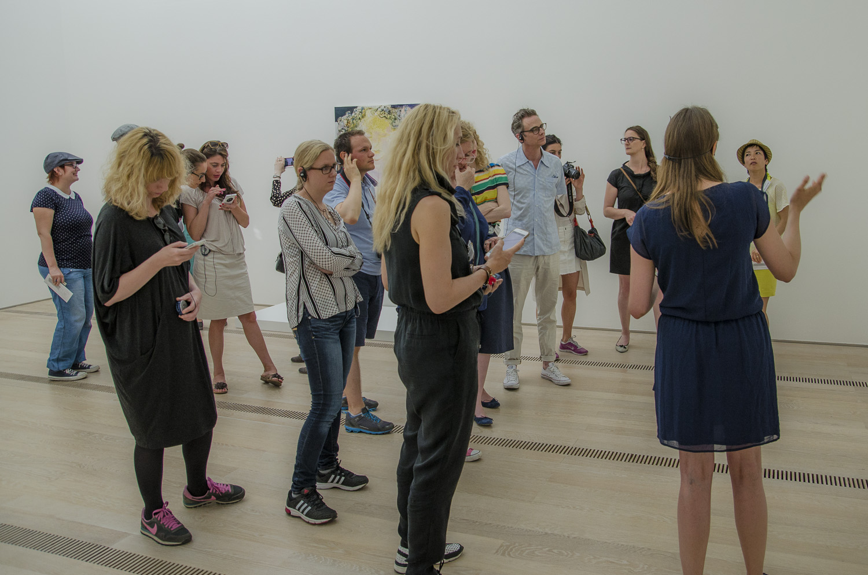 Führung in der Marlene Dumas Ausstellung in der Fondation Beyeler (Basel)